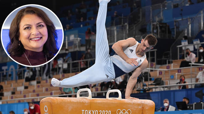 Team GB gymnast Max Whitlock defended his pommel horse title at the weekend