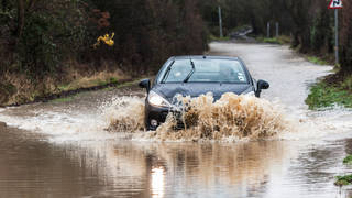 Flooding could be on the way for the south of England.