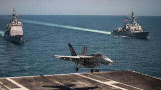 The South has been warned off holding drills with the US