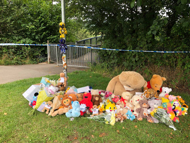 Bears have been left near to where the boy was found