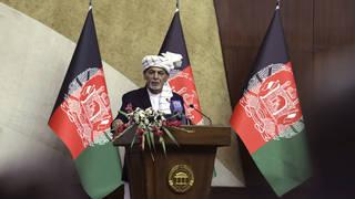 Afghan President Ashraf Ghani (Rahmat Gul/AP)