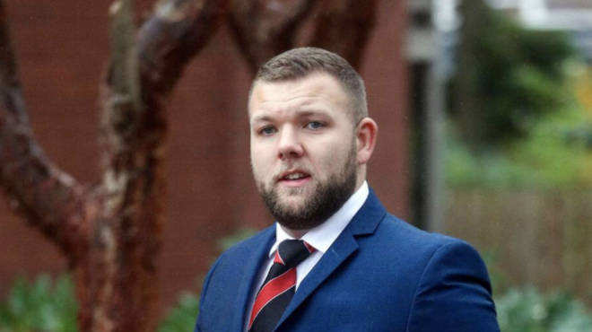 Declan Jones has been found guilty of assaulting two people during lockdown