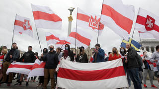 Belarusian opposition has been active in Ukraine