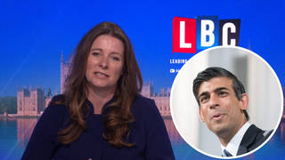 Apprenticeships and Skills Minister Gillian Keegan was speaking to LBC