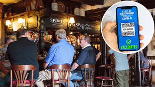 The minister confirmed there were no plans for vaccine passports in pubs