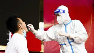Virus Outbreak China County Testing