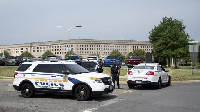 Pentagon Lockdown