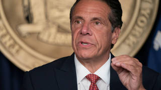 The state's Attorney General Letitia James said Mr Cuomo had violated state and federal laws.