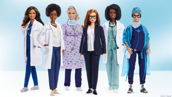 Barbie has created dolls based on a number of women who have worked during the COVID-19 pandemic.