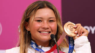 Sky Brown took the bronze medal for Team GB.