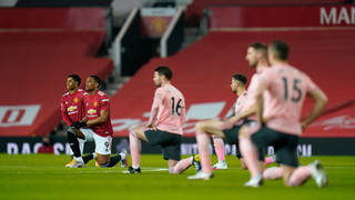 Footballers will keep taking the knee
