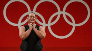 Laurel Hubbard was the first openly transgender athlete to compete at the Olympics