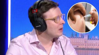 Refusing the Covid jab is 'definitely selfish', says journalist Benjamin Butterworth