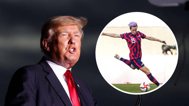 Donald Trump has gone after the US women's soccer team after they failed to make the gold medal game and won a bronze at the Tokyo Olympics