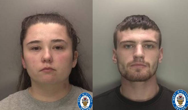 Nicola Priest and Callum Redfern have been convicted of the manslaughter of Kaylee-Jayde Priest