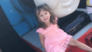 Kaylee-Jayde was three and a half years old when she was killed lat year