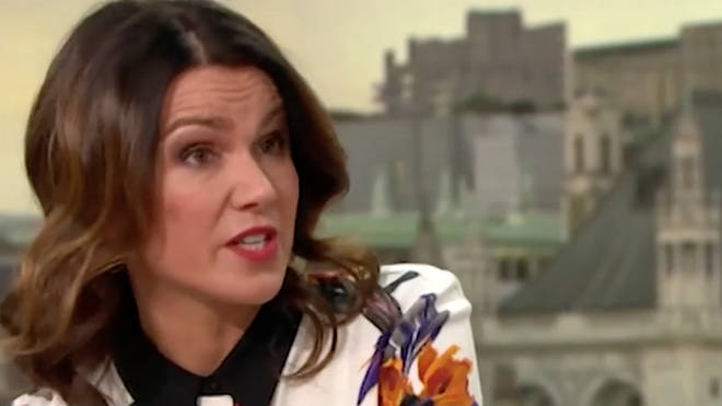 Susanna Reid opened up about the incident on Tuesday morning
