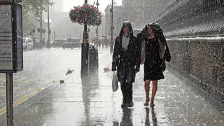 The UK will be battered by more heavy rain over the weekend