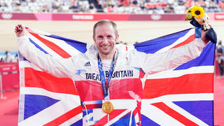 Jason Kenny took another gold on Sunday