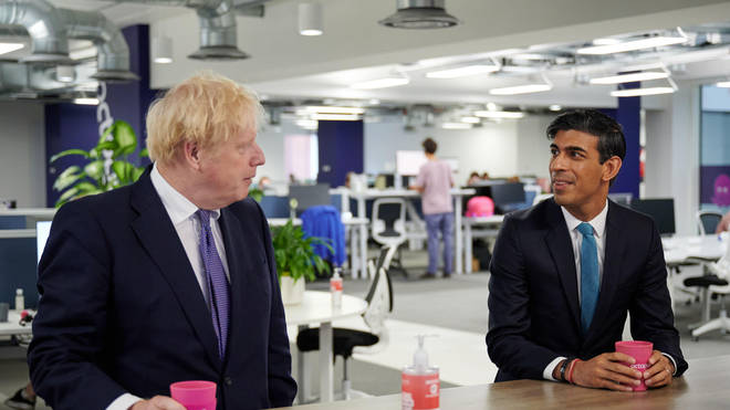 A report says Boris Johnson openly considered demoting Rishi Sunak