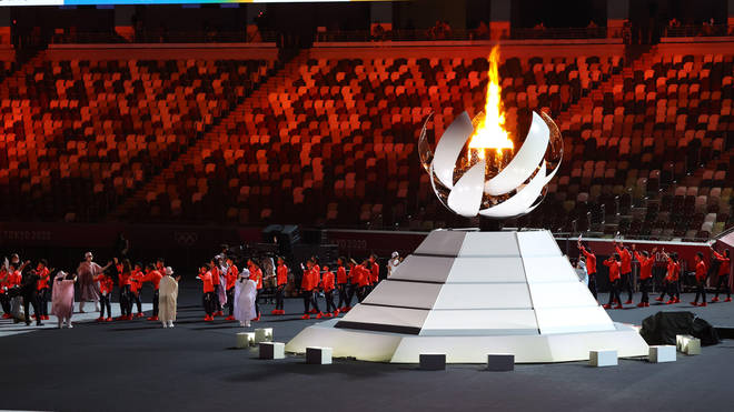 The closing ceremony ended more than two weeks of competition