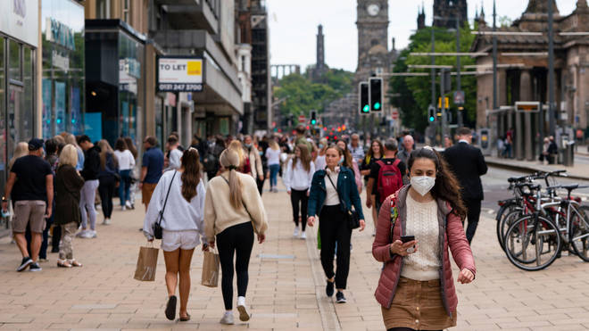 Face masks will still be needed indoors, despite the easing of Covid restrictions.