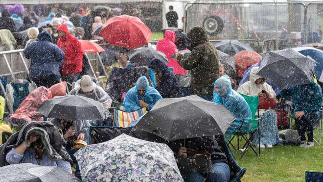 Brits have faced a month of rainfall since the beginning of August.