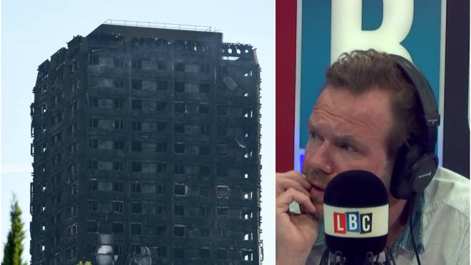 James O'Brien Grenfell Tower