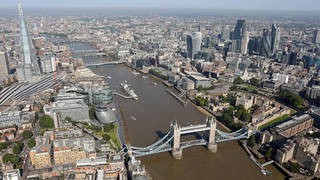 London dropped out of the top five least affordable cities