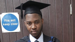 David Gomoh was stabbed to death