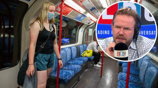 James O'Brien pondered the issue if masks on public transport