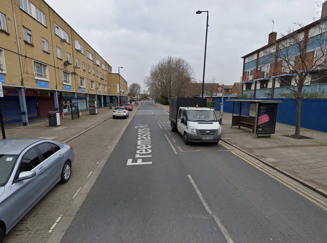 Mr Gomoh was stabbed in Freemasons Road, East London