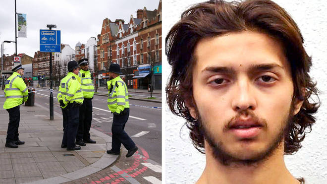 Officers have described the moment they shot down Sudesh Amman in Streatham