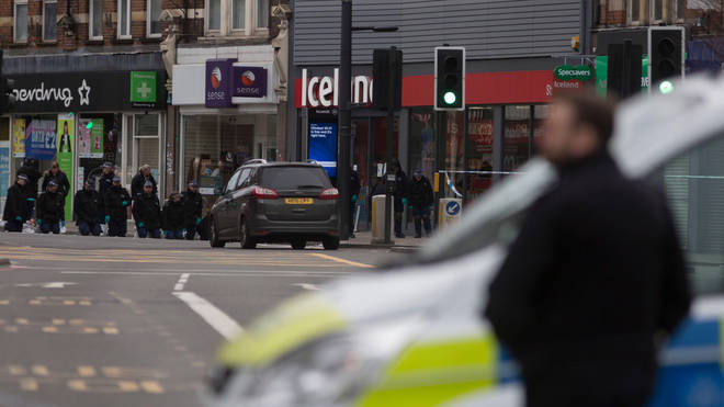 Amman launched his attack in Streatham High Road