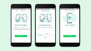Image of WhatsApp's new cross-platform switching tool