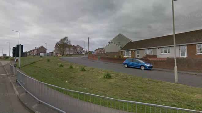 A woman was arrested on suspicion of murder after the incident in Broadlands, Bridgend