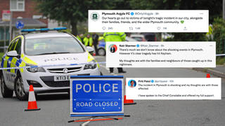 There has been an outpouring of grief and support following the deadly Plymouth shooting