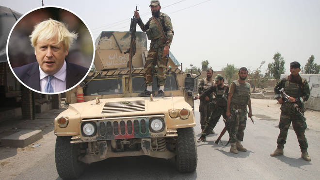 Afghan troops are in conflict with the Taliban.