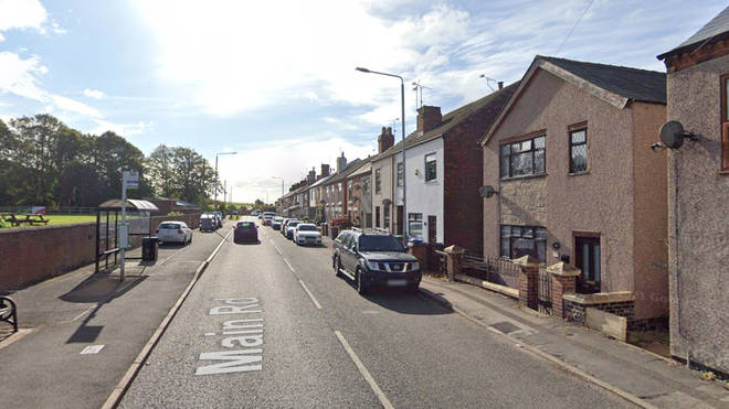 Police were called to a house on Main Road in Jacksdale, Nottinghamshire