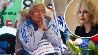 The Gurkha hunger strike has entered its ninth day