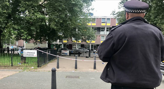 Four people have been treated for gunshot injuries after the incident near Regent's Park