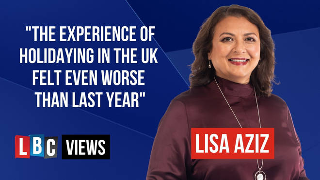 LBC News Presenter Lisa Aziz gave her LBC Views