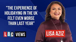Lisa Aziz gave her LBC Views