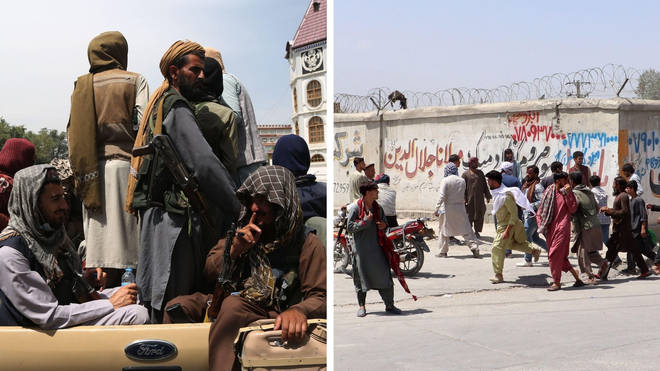 The Taliban have been accused of carrying out beatings and acts against women despite their publicity drive