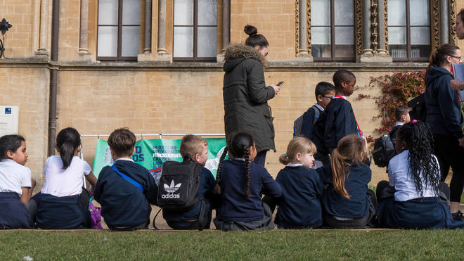 The government has been criticised for suggesting outdoor classrooms