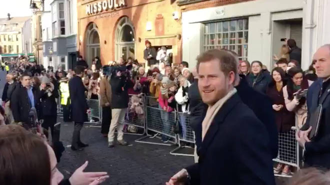"Heckler Asks Prince Harry: ""How Does It Feel Being A Ginger With Meghan?"""