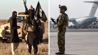 There is a threat to Kabul airport from Isis, the US embassy has said