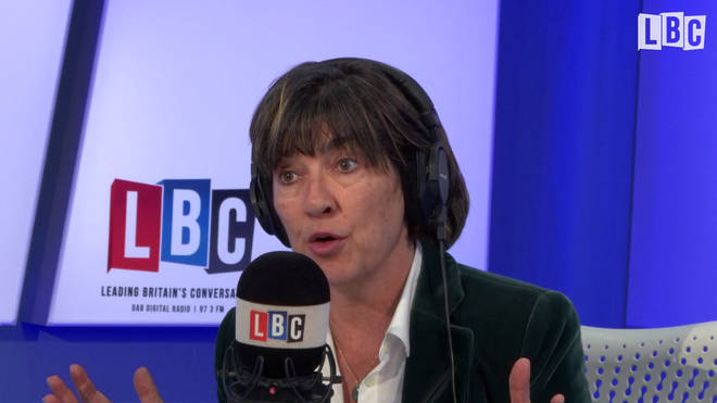 Christiane Amanpour joined Iain Dale on Friday