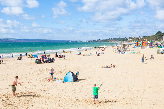 The UK could see temperatures of 26 or 27C as September arrives.
