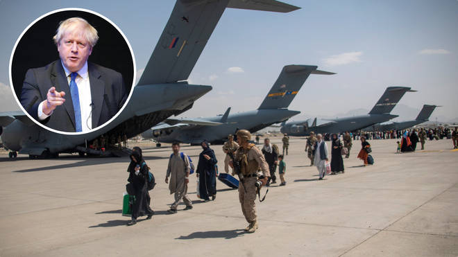 Boris Johnson will urge G7 leaders to up their support of Afghan refugees and to agree a joint approach to handling the Taliban occupation